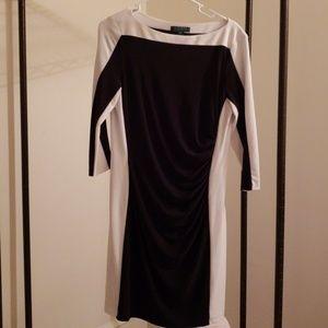 Ralph Lauren 3/4 Sleeve Dress 14P